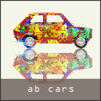 abstract car images