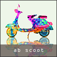 abstract scooter images