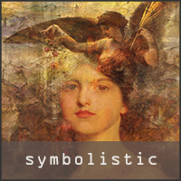 Symbolistic collages images